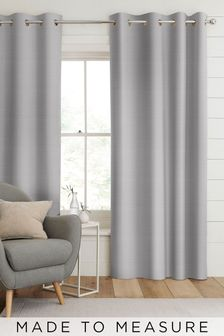 Jasper Silver Made To Measure Curtains