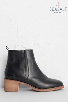 Seasalt Black Rinsey Boots