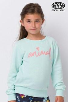 Animal Green Mila Crew Neck Sweatshirt