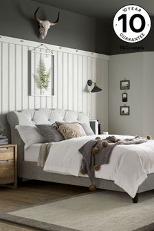 Wool Blend Grey Hartford Bed