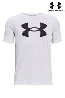 Under Armour Boys Tech Large Logo T-Shirt