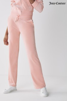 Juicy Couture Velour Classic Del Ray Joggers