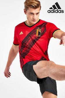 adidas Red Belgium Home Football Shirt