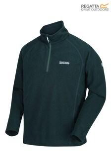 Regatta Green Montes Half Zip Fleece