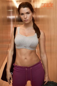 Panache Grey Marl Wired Sports Bra