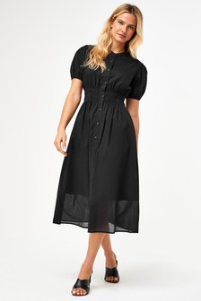 Black Voile Dress