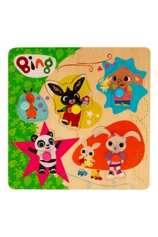 Bing Wooden Pick And Place Puzzle
