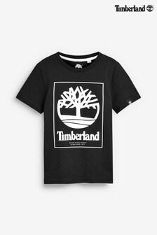 Timberland® Black Logo T-Shirt