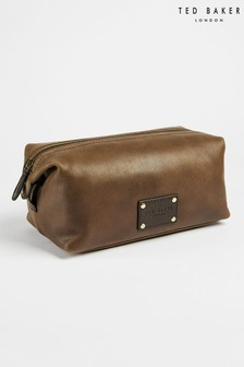 Ted Baker Artor Embossed Leather Washbag