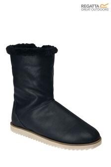 Regatta Black Kalene Insulated Boots