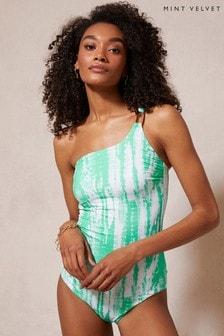 Mint Velvet One Shoulder Swimsuit