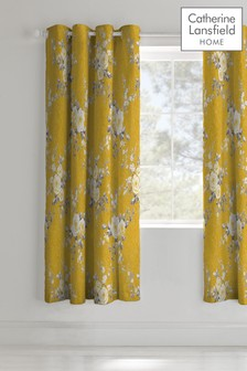 Canterbury Eyelet Curtains by Catherine Lansfield
