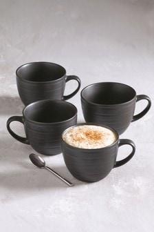 Set of 4 Bronx Mugs