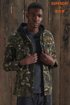 Superdry Core Military Patched Hoody