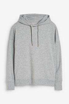 Grey Marl Hoody