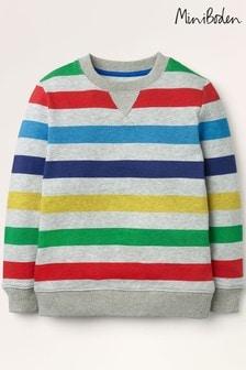 Mini Boden Multi Cosy Printed Sweatshirt