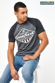 Grey Goodyear Licence T-Shirt