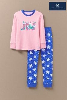 Crew Clothing Pink Stocking Pyjama Set