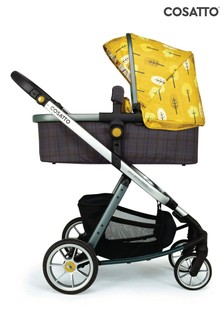 Spot the Birdie  Giggle Quad Pram and Pushchair by Cosatto