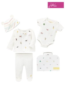 Joules White My First Outfit 4 Piece Set