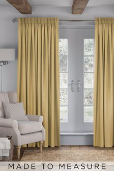 Imogen Sunflower Gold Made To Measure Curtains