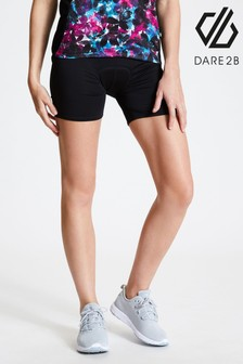 Dare 2b Black Recurrent Padded Cycle Shorts