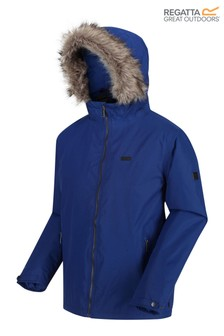 Regatta Blue Haig Waterproof Jacket