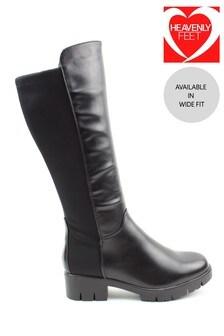 Heavenly Feet Sidewalk Ladies Tall Boots