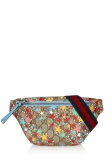 Girls Beige Belt Bag