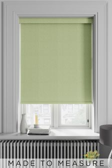 Arden Mint Green Made To Measure Blackout Roller Blind