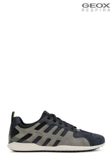 geox cheap coats, Men Trainers Geox SNAKE Trainers grey