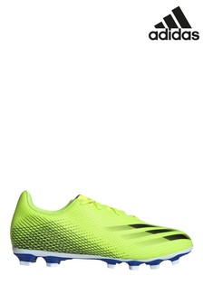adidas Yellow X P4 Firm Ground Football Boots