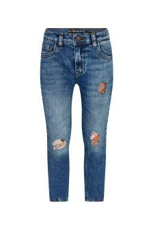 جينز قطن أزرق أولادي