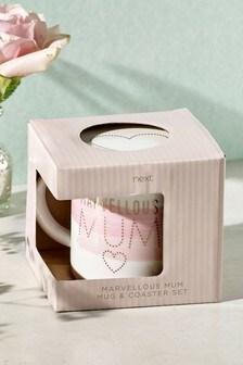 Mother's Day Mug & Coaster Set