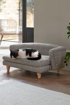 Grey Sherlock Standard Pet bed