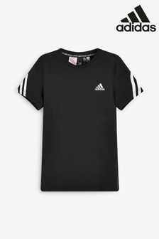 adidas Back 3 Stripe T-Shirt