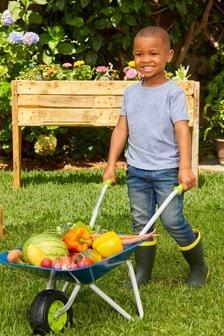 Little Tikes Growing Garden Wheel Barrow And Shovel 656477EUC