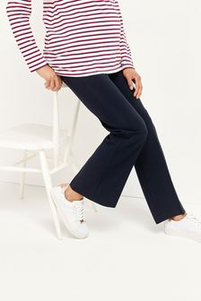 Navy Maternity Boot Cut Trousers