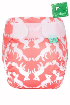 TotsBots EasyFit Star All-in-One Reusable Nappy Foxtrot