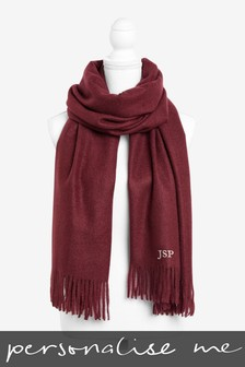 Personalised Tassel Scarf