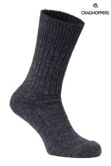 Craghoppers Black Mens Hiker Socks