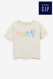 Gap Disney Embroidered Mickey Mouse T-Shirt