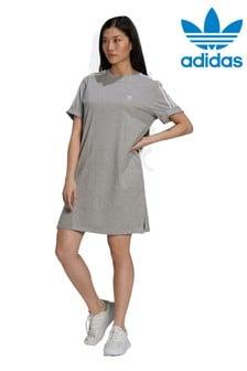 adidas Originals 3 Stripe T-Shirt Dress