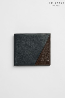 Ted Baker Robec Colour Block Leather Bifold Wallet