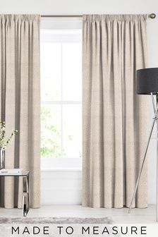Inspira Champagne Natural Made To Measure Curtains