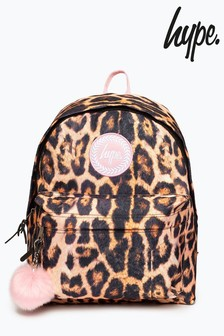 Hype. Multi Blush Leopard Backpack