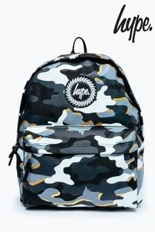Hype. Multi Line Camo Backpack