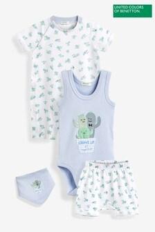 Benetton Blue Baby Set