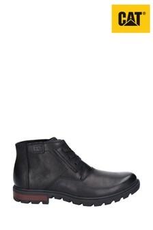 CAT® Lifestyle Black Stats Lace-Up Boots
