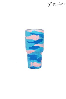 Paperchase Metal Brushstroke Travel Cup